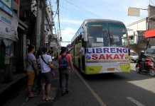 COPING WITH.The city government of Davao commissions 36 buses to give free rides to passengers in line with the nationwide transport strike conducted by Transmision-Piston on Monday. The group is urging the government to cancel the modernization plan for public utility vehicles. LEAN DAVAL JR.
