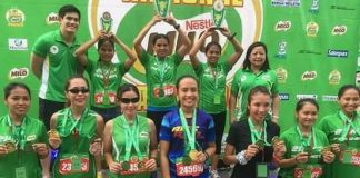 WINNERS ALL. Winners in the recent 41st National Milo Marathon Davao Leg race last Sunday pose with their medals. VANTAGE SPORTS photo