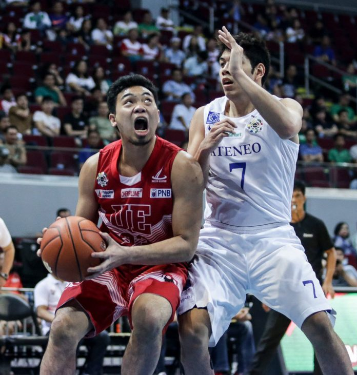 Alvin Pasaol (23) is the UAAP Player of the Week