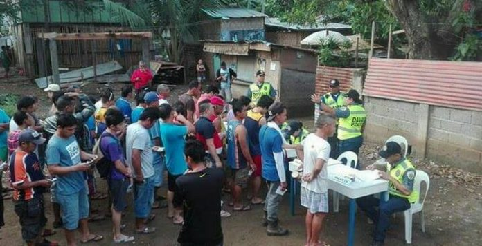 Oplan Bulabog on November 8, 2017. DCPO Photo