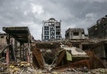 The military opened portions of Marawi City's Ground Zero on 25 October 2017 for journalists to see what it took to liberate the country's lone Islamic City from ISIS-inspired terrorists after five months of fighting. MindaNews photos by MANMAN DEJETO