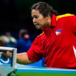 PH BET. The Philippines' Josephine Medina, a bronze medalist in the 2016 Rio Olympics, is eyeing a berth in the World Para Table Tennis Championship.