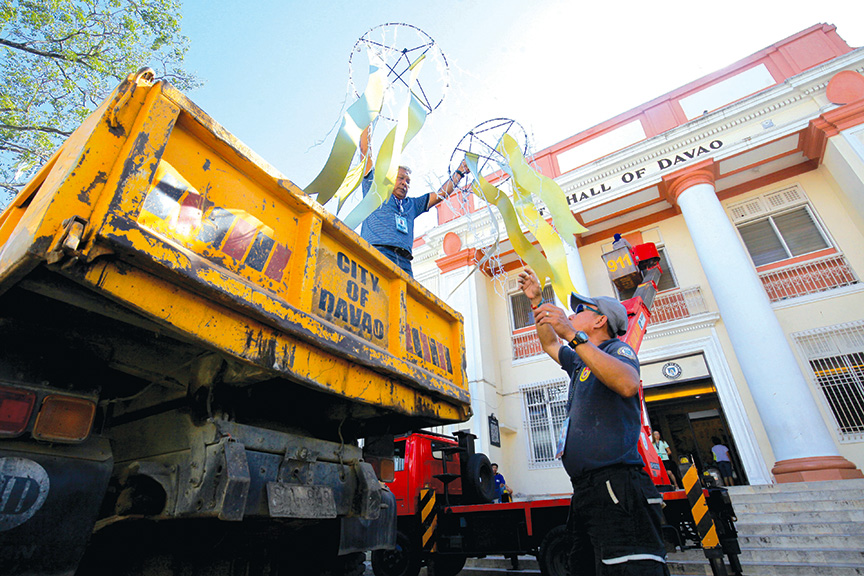 gearing up employees of the city government of davao unload rh edgedavao net