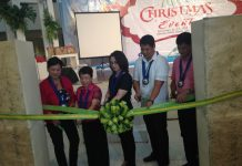 NEW DESIGNS. The Mindanao Trade Expo- Christmas event opens it doors to the public to highlight local, innovative Products' together with DTI XI Regional Director Ma. Belenda Ambi and MTEFI President Rosevic Del Rosario-Combrano and with the MTE guest at Activity Center Abreeza Mall Davao on Monday. JUDIE VEGA