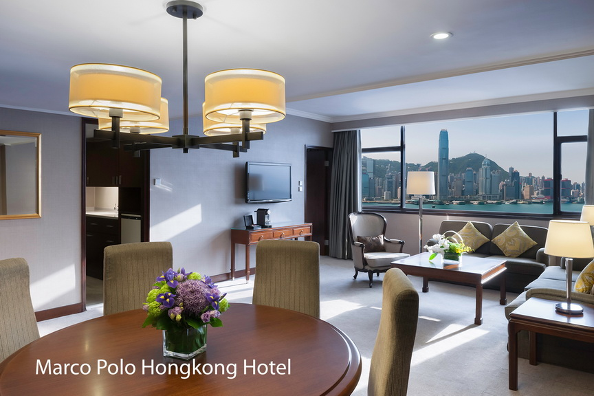 Marco Polo Hongkong Hotel_Deluxe Suite_Day