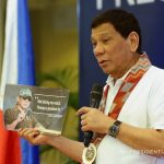 UNBENDING. President Rodrigo Duterte, in his speech during the launching of the Malasakit Program at the Vicente Sotto Memorial Medical Center in Cebut City on Monday, reiterates that he will not tolerate corrupt practices during his term. PRESIDENTIAL PHOTO