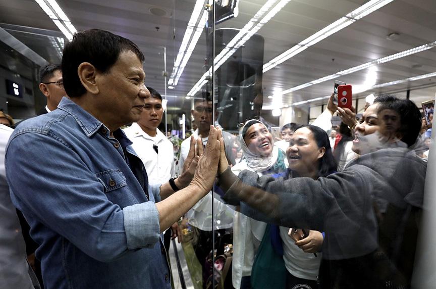 A welcoming filipino home