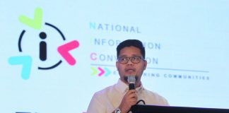 SETTING THE TONE. Philippine Information Agency (PIA) director general Harold Clavite welcomes the delegates during the opening of the National Information Convention held at SMX Convention Center in Lanang, Davao City on Monday. LEAN DAVAL JR