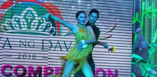 TALENT TILT. Candidate number 11 Daryl Borja wows the crowd with her dance number during during Mutya ng Davao 2018 talent competition held at the atrium of Gaisano Mall along J.P. Laurel Avenue on Tuesday. LEAN DAVAL JR
