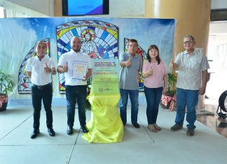 The provincial government of Compostela Valley under Governor Tyron L. Uy through the Provincial Anti-drug Abuse Council (PADAC) received a silver award with 90 points performance rating during the conduct of 2018 National Anti-Drug Abuse Council performance audit by the Department of Interior and Local Government (DILG). The recognition is given to provincial, city, or municipal ADACs who have exceptionally performed their duties and responsibilities in planning and implementing their respective anti-illegal drug programs, projects and activities.(a. dayao/id comval)