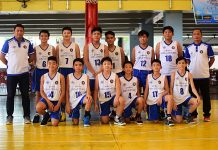 caption Sacred Heart School won over host Ateneo de Davao University to win the 12-Under Inter-Ateneo Invitational basketball league held at the Ateneo De Davao Matinez Hall over the weekend, 61-36. Two other Ateneo schools competed in the tournament with Xavier University finishing third place after winning against Ateneo de Zamboanga University. Koii Canarias