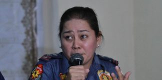DCPO spokesperson Police Senior Inspector Ma. Teresita Gaspan