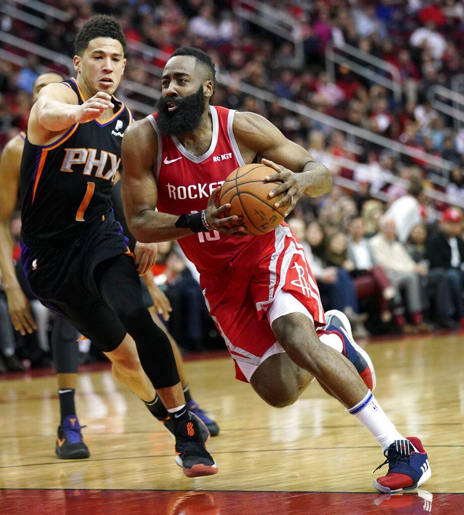07d0f919837b James Harden s 41 points lead Rockets over Suns 108-102.