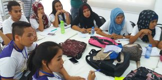 Students who undergo trainings and seminars are among the beneficiaries of the Center for Excellence and Humanitarian Service building in Cotabato City. ALEXANDER D. LOPEZ