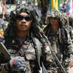 MILF fighters in Maguindanao. Mindanews File Photo