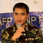 TAPING OF GUN MUZZLES. Eastern Mindanao Command (EastMinCom) spokesperson Major Ezra Balagtey told reporters on Wednesday that the AFP will forego with the traditional gun muzzle taping for this year's celebration of Yuletide season. Balagtey was among the guests of yesterday's AFP-PNP Press Corps media forum at The Royal Mandaya Hotel. LEAN DAVAL JR.