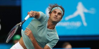 HE'S BACK. Roger Federer returned to tennis after a spate of injuries and looked good in leading Swizerland past Greta Britain in a teamup with Belinda Bencic. Hopman Cup photos