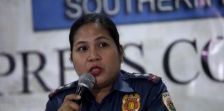 NO IFS OR BUTS. Davao City Police Office (DCPO) spokesperson Senior Inspector Catherine Dela Rey says authorities will aggressively implement the road clearing operations to instill discipline to vehicle and motorcycle owners in the city. Dela Rey made the statement during yesterday's AFP-PNP Press Corps media forum at The Royal Mandaya Hotel. LEAN DAVAL JR