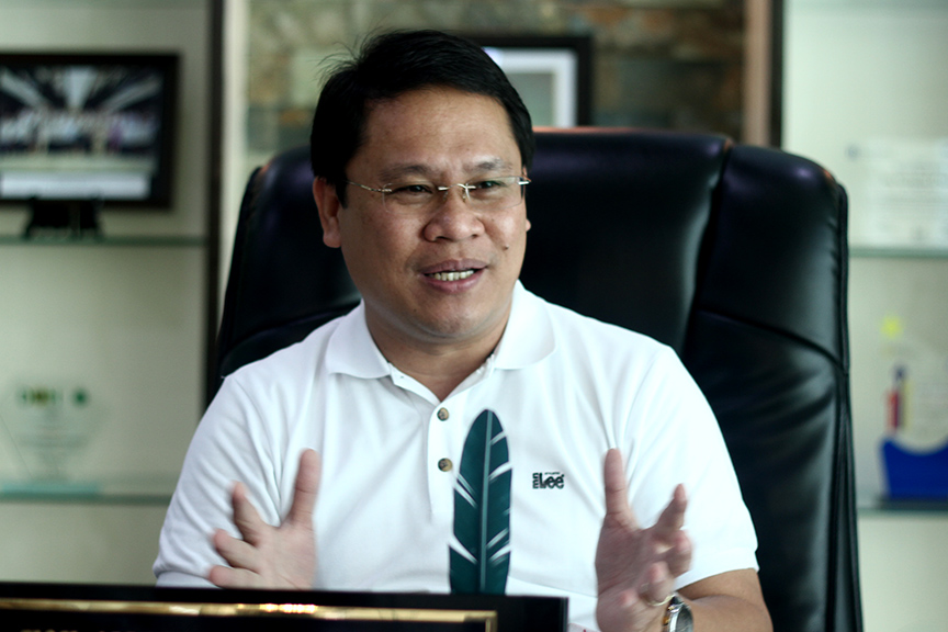 Mayor Allan Rellon. File Photo by KB