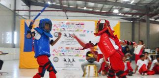 ARNIS TOURNAMENT. Exciting arnis action returns on March 4-5 at the Gaisano Grand Citi Mall. (DCSDD photo)