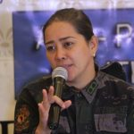 ADDITIONAL INFO. Davao City Police Office (DCPO) spokesperson Senior Inspector Ma. Teresita Gaspan provides details of the ambush staged by the rebel New People's Army against the Presidential Security Group (PSG) in Arakan, North Cotabato early morning of Wednesday during -PNP Press Corps media forum at The Royal Mandaya Hotel. LEAN DAVAL JR.