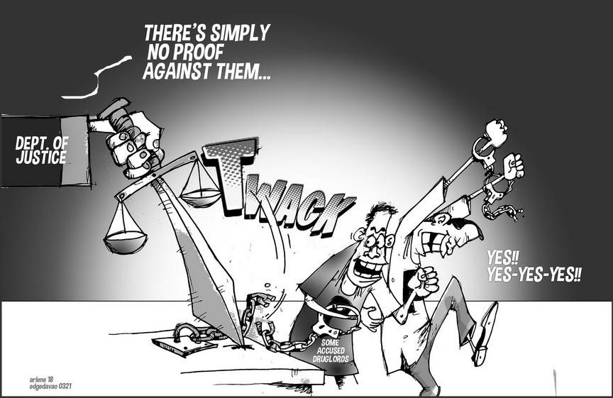 EDITORIAL CARTOON: Case dismissed? - Edge Davao