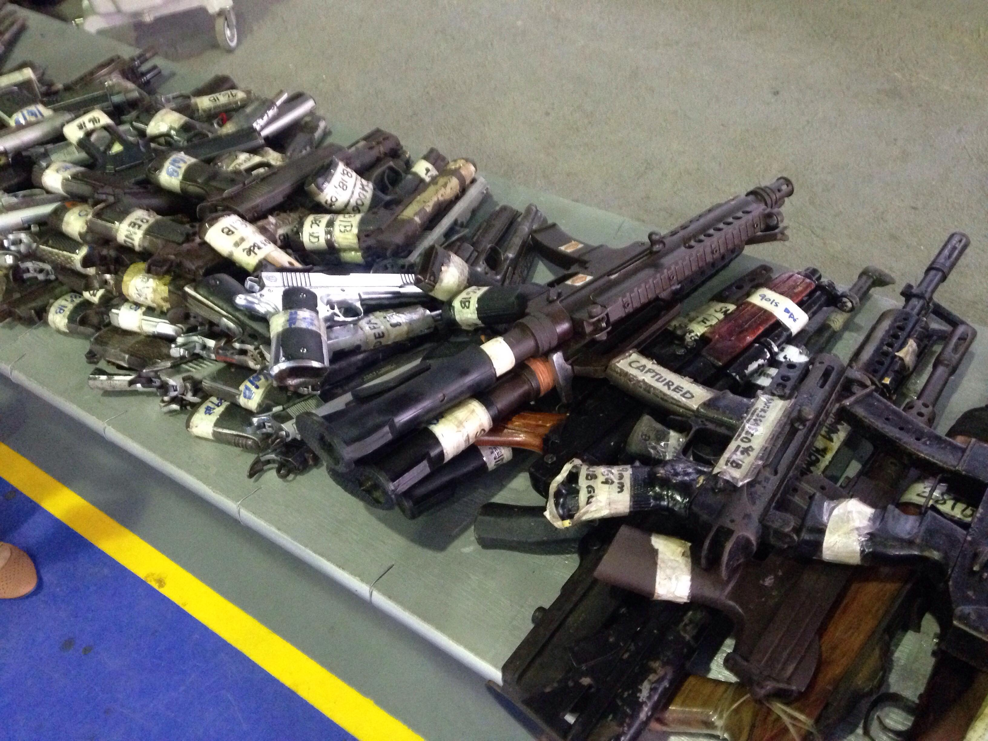 Army operations versus NPAs netted 1,141 guns - Edge Davao