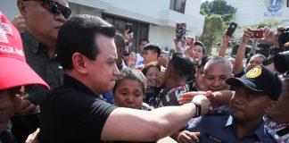Trillanes attends arraignment of 4 libel cases in Davao City