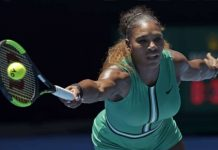 Serena Williams of the U.S. squandered four match points in another meltdown.