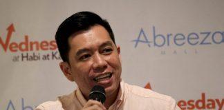 Lemuel Ortonio, Davao City Investment and Promotion Center (DCIPC) chief