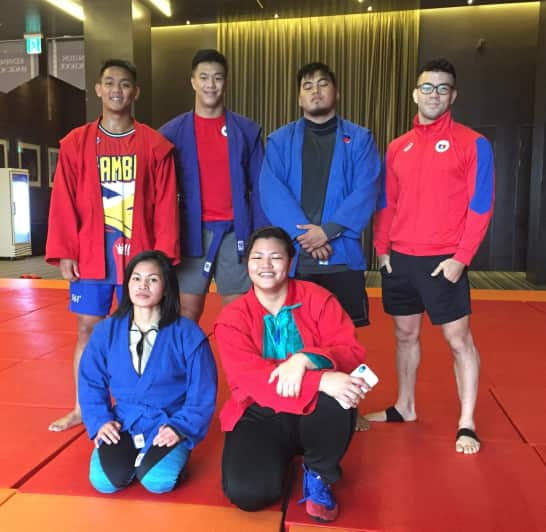 The Pilipinas Sambo team will be taking part in a tough Korea tournament.