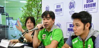 Vantage Sports president and National Milo Marathon organizer Kenneth Sai announces the resumption of the 42nd National Milo Marathon during the Davao Sportswriters Association Forum held at the Annex of SM City Davao. Seth Delos Reyes photo