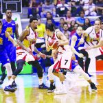 San Miguel Beermen and TNT KaTropa are two of three Philippine squads in the Terrific 12 tournament.