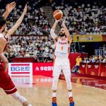Spain's Ricky Rubio (9) and Marc Gasol (13) conspired to lift their team to the semis.